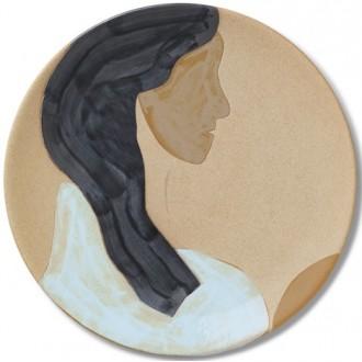 Hessa ceramic platter