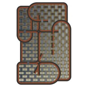 Tangle Menjangan rug - 194...