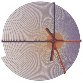 Bow Beijing rug - Ø250 cm -...