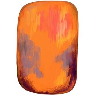 Scribble yellow rug - 200 x...