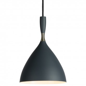 dark grey - Dokka pendant