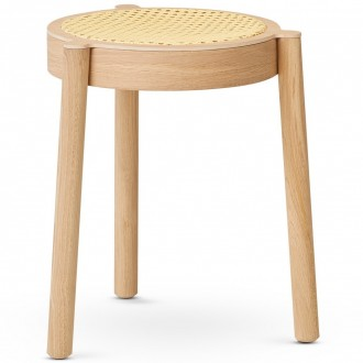 cane mesh seat / light oak...