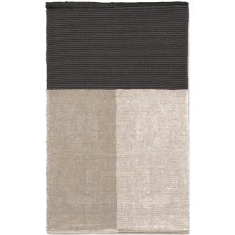 Pile bathroom mat - grey