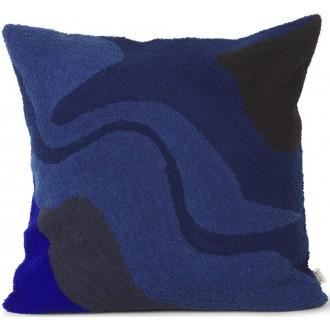 coussin Vista - bleu foncé