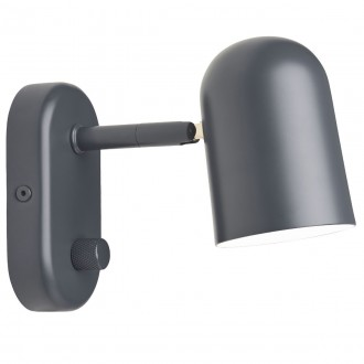 dark grey - Buddy wall lamp