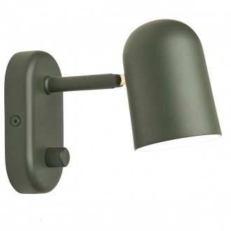 dark green - Buddy wall lamp