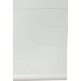 blanc cassé - papier peint...
