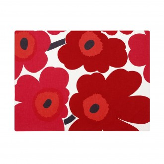 Unikko Placemat - red,...
