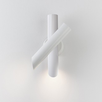 applique Tubes 2 - blanc