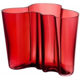 Aalto vase 160mm, cranberry
