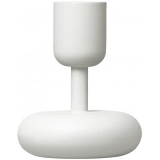 H10,7cm - blanc - bougeoir...