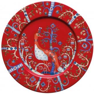 Ø22cm - Taika red plate