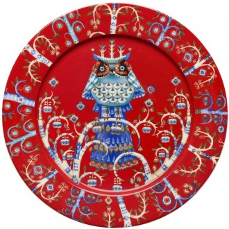Ø27cm - Taika red plate