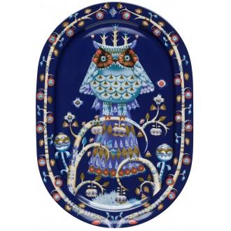 41cm - Taika blue serving...