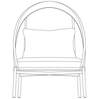 Loïe lounge chair