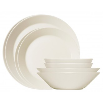 Teema set 16 pieces white
