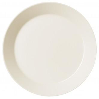Ø23cm - assiette Teema blanche