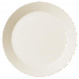 Ø23cm - Teema plate - white