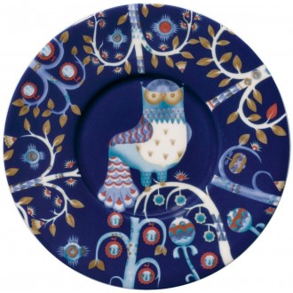 Ø11cm - sous-tasse Taika bleue