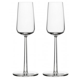 21cl - 2x champagne glass...