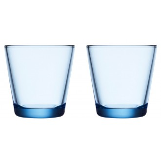 21cl - 2 x Kartio aqua glasses