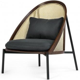 Loïe lounge chair - dark...