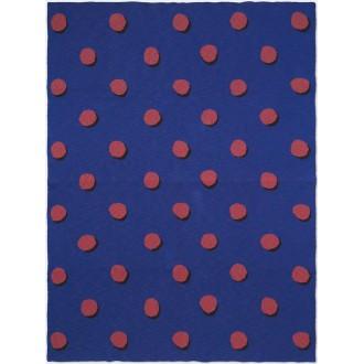 bleu - plaid Double Dot