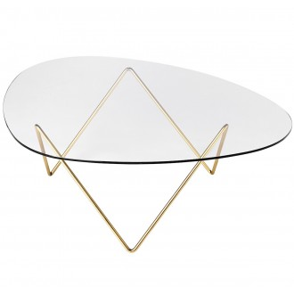 brass - Pedrera coffee table