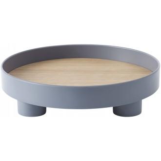 Platform tray - blue grey