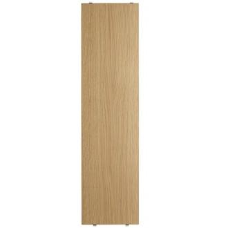 78x20cm - 3-pack shelves - oak