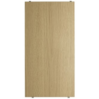 58x30cm - 3 x étagères - chêne