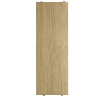 58x20cm - 3 x étagères - chêne