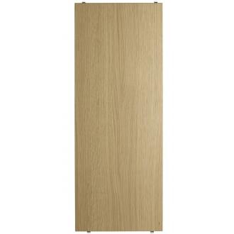 78x30cm - 3-pack shelves - oak