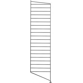 115x30cm - montant sol - noir