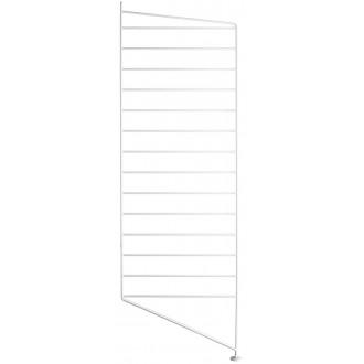115x30cm - montant sol - blanc