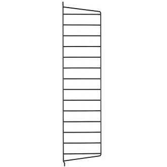 75x20cm - montant mur - noir