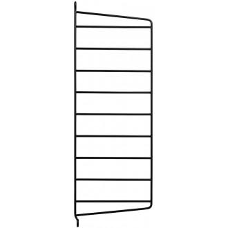 50x20cm - montant mur - noir