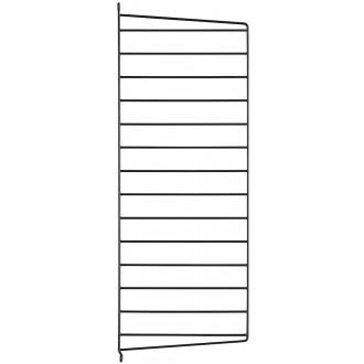 75x30cm - montant mur - noir