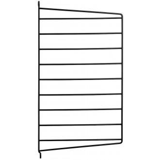 50x30cm - montant mur - noir