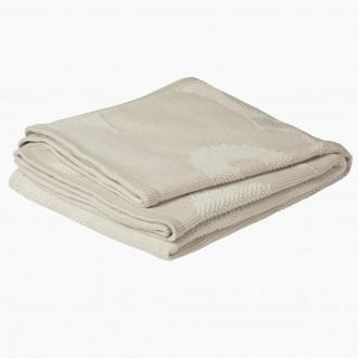 blanket - Unikko - beige 810