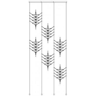 6 modules diagonale VVV