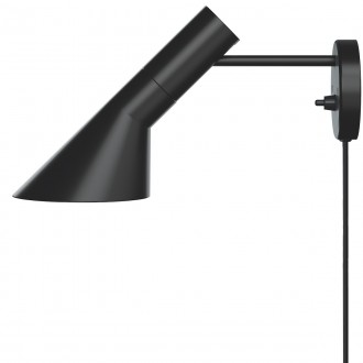 black - AJ wall lamp