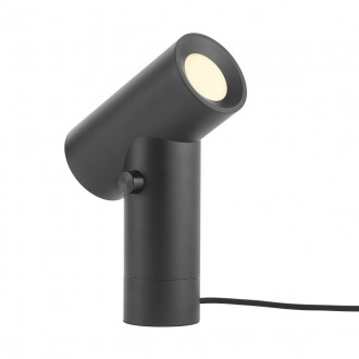 noir  - lampe Beam