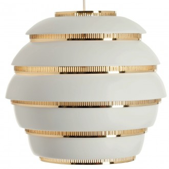 white / brass A331 Beehive