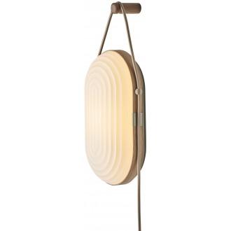 light oak - Arc wall light