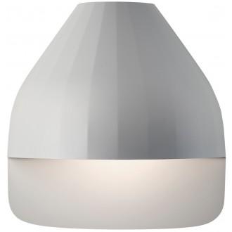 Facet wall lamp light grey...