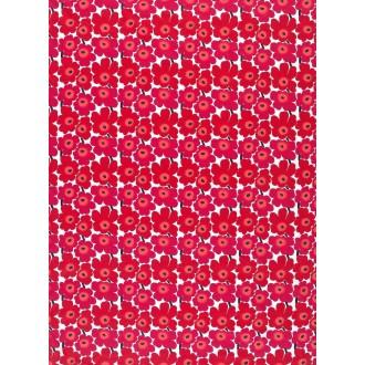 cotton red Mini Unikko
