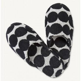 slippers - Räsymatto - black