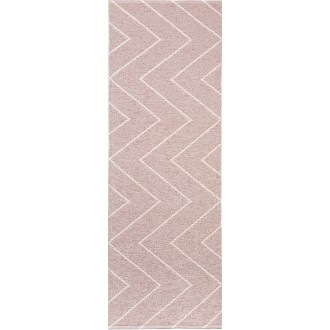 rose dusty - Rita - tapis...