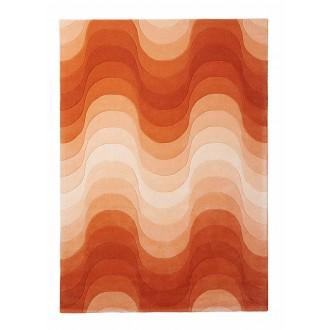 orange - Wave rug 240 x 170 cm